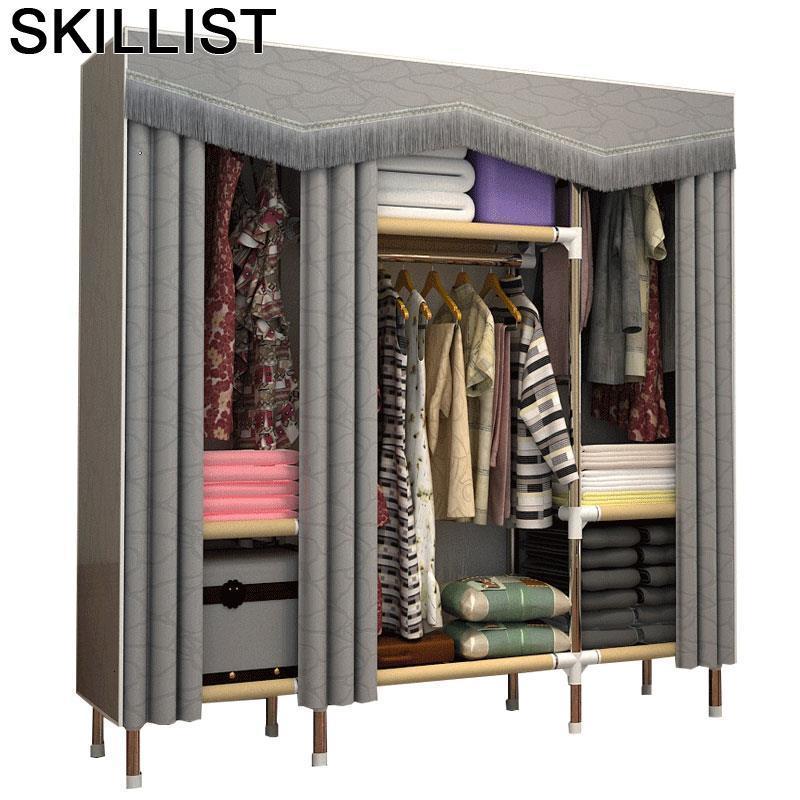 Odasi Mobilya Moveis Para Casa Armario Armoire Rangement font b Closet b font Storage Cabinet Bedroom