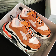 Fashion Paris Triple-S Designer Shoes Low Platform Sneaker Triple S Mens Casual