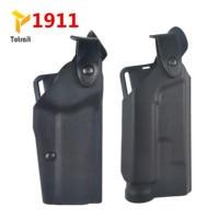 Military Safariland Pistol Airsoft Gun Holster Colt 1911 Light Bearing Belt Holster Hunting right Hand Pistol Gun Accessories