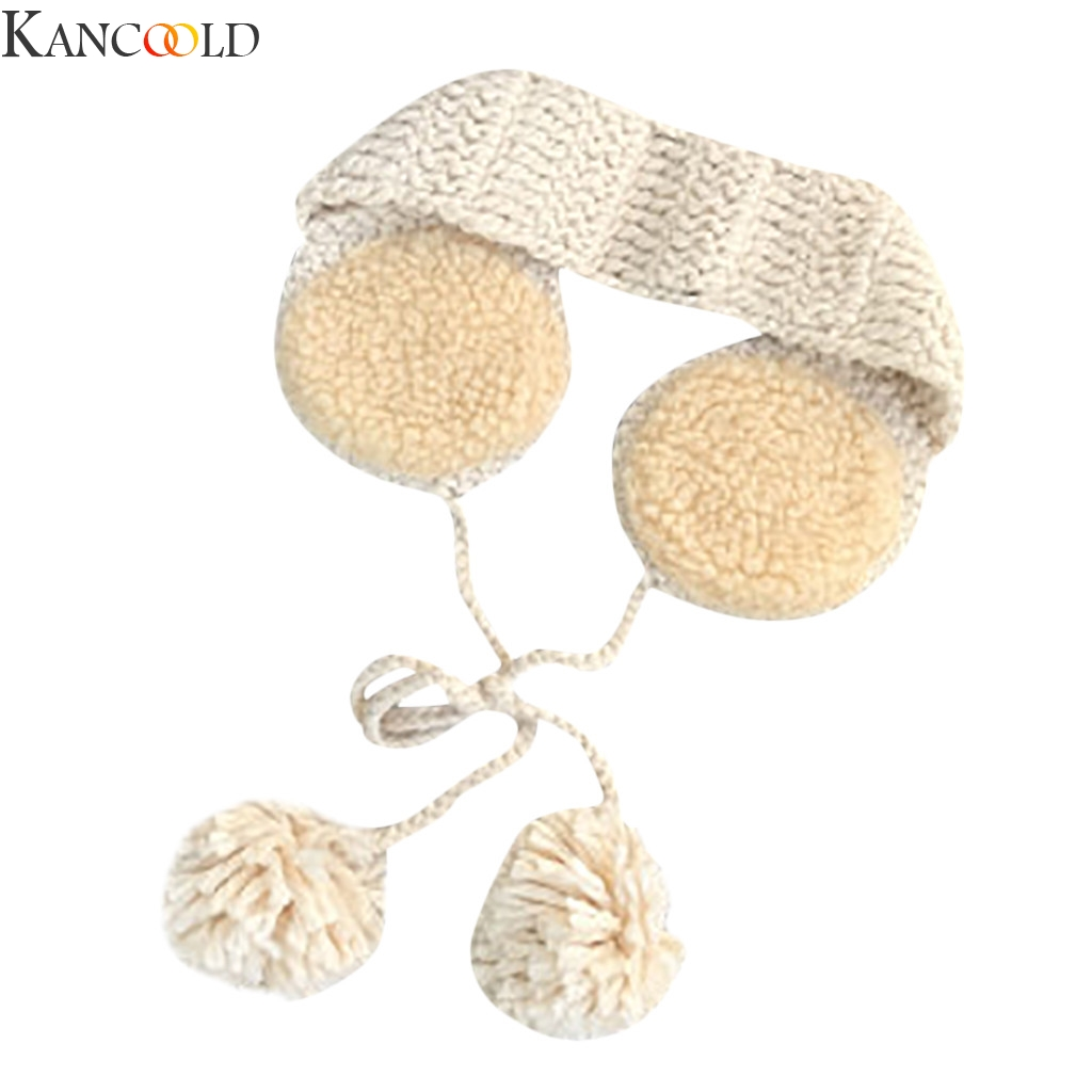 KANCOOLD New Fashion Cute Ears Plush Earmuffs 2 In 1 Scarf Earflap Winter Autumn Warm Plush Ear Muffs Cute INS Hot Fashion