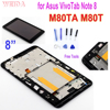 "AAA + + + 8 ""LCD עבור Asus VivoTab הערה 8 M80TA M80T LCD תצוגת מסך מגע Digitizer עצרת עם מסגרת לא מת פיקסל משלוח כלים"