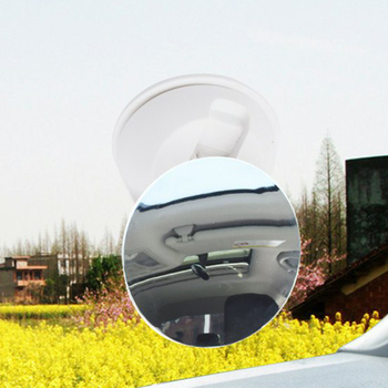 75mm Non Frame Car Back Seat Mirror Baby Facing Rear Ward View Mirror Round Safety Baby Kids Monitor image