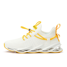 Plus Size 39-46 Men Running Shoes Breathable Men Sneakers Light Weight Athletic Sports Shoes outdoor walking shoe zapatos hombre li ning 2018 men color zone cushion running shoes breathable mono yarn li ning light weight sports shoes sneakers arhn101