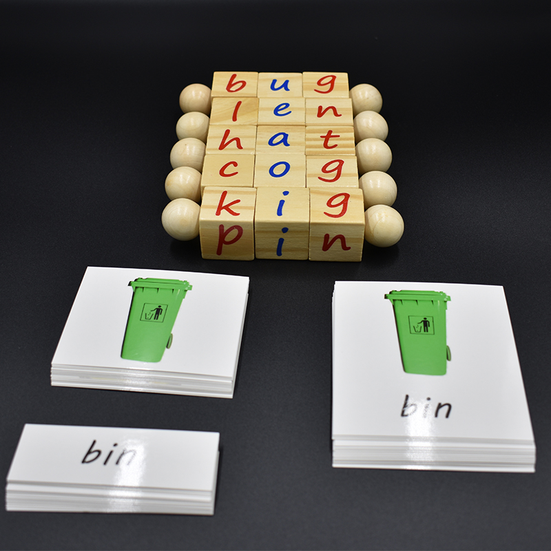 Baby-Monterssori-Educational-Toy-Alphabet-Cube-Block-Spelling-Words-Game-Learning-English-Cards-Early-Educational-Toy
