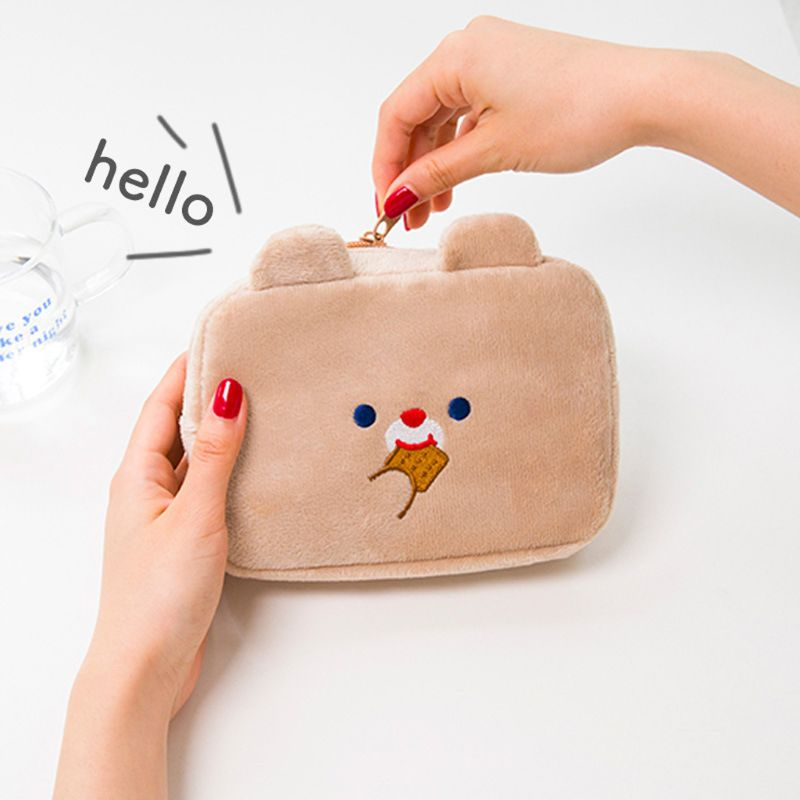 Travel Cosmetic Makeup Bag Digital Earphone Organizer USB Flash Drives Toiletry Case Coin Purse Pouch Storage
