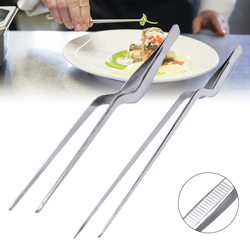 14-30cm tira pinças de churrasco chefe de aço inoxidável pinças de churrasco clipe de comida pinça de carne ao ar livre piquenique gadget churrasco utensílios de cozinha