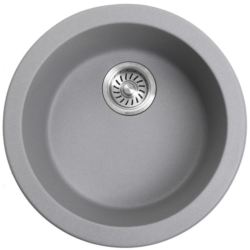 Mutfak Mini el lavabo lavabo yuvarlak lavabo tek yuvası kuvarsit granit bar balkon mutfak lavabo undermount