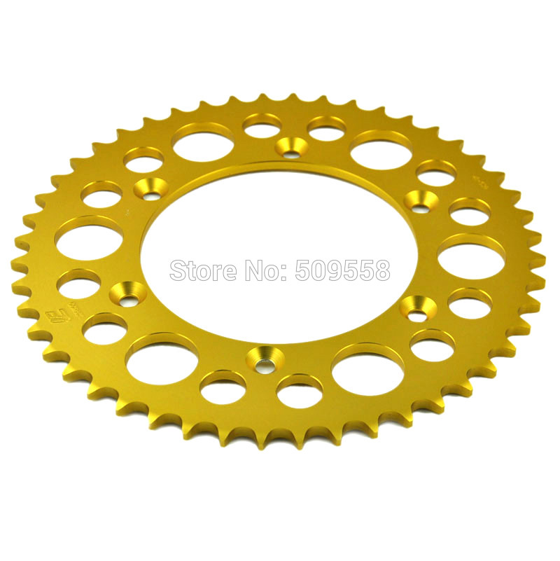 520 Chain 47T Motorcycle Rear Sprocket For BMW 650 X-challenge 650 X-country 2007-2008 K15(China)