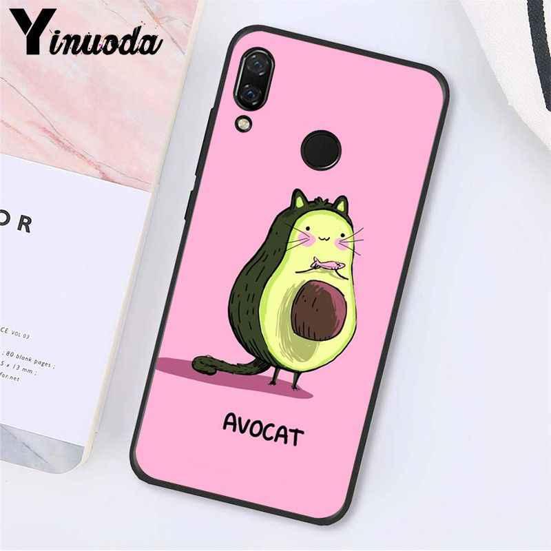 Yinuoda Alpukat Estetika Gteen Buah Makanan Phone Case untuk Xiaomi Redmi Note 7 5 4 Redmi 5 Plus 6A Note8 4X Note8Pro