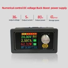 XYS3580 DC DC Buck Boost Converter CC CV 0.6 36V 5A Modulo di Alimentazione Regolata Regolabile laboratorio di alimentazione variabile