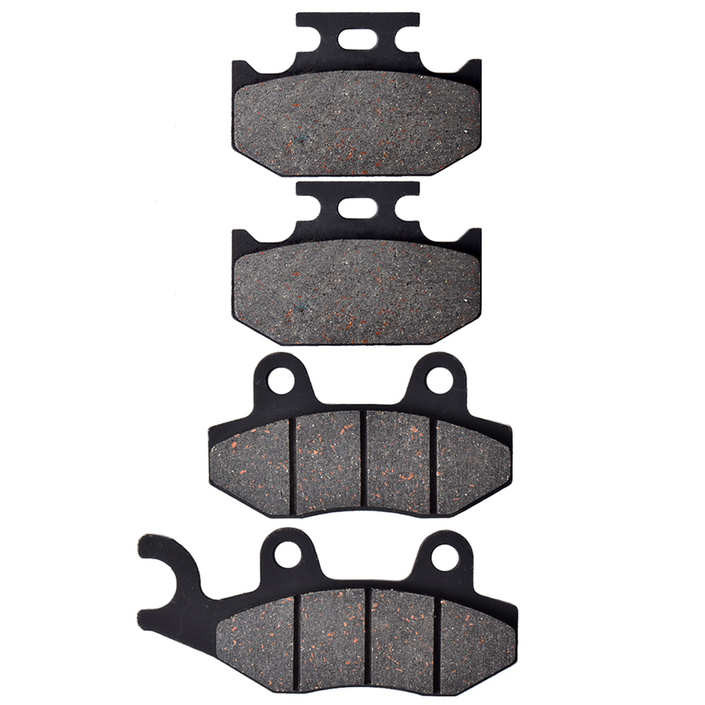 For YAMAHA XTZ250 4B41/2/3 Lander Brasil 2007 2008 2009 <font><b>XTZ</b></font> <font><b>250</b></font> motorcycle Front Rear Brake Pads Brake Disks image