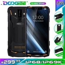Ban Đầu IP68/IP69K DOOGEE S90 Siêu Chống Thấm Nước Chống Sốc 5050 MAh 6.18 MT6671 Helio P60 6GB 128GB điện Thoại Thông Minh 16MP Camera