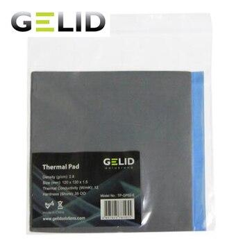 GELID dissipation thermique tampon thermique ordinateur portable graisse thermique gpu carte nord sud pont cooling12W/mk 120x120mm 0.5mm/1.0mm/1.5mm