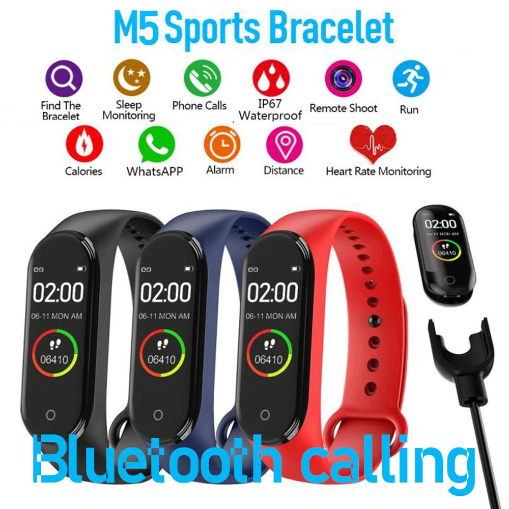 M5 Band Smartband M5 Smart Bracelet Sports Bracelet Heart Rate Blood Pressure Oxygen Reminder Wristbands Smart Band Hot Sale