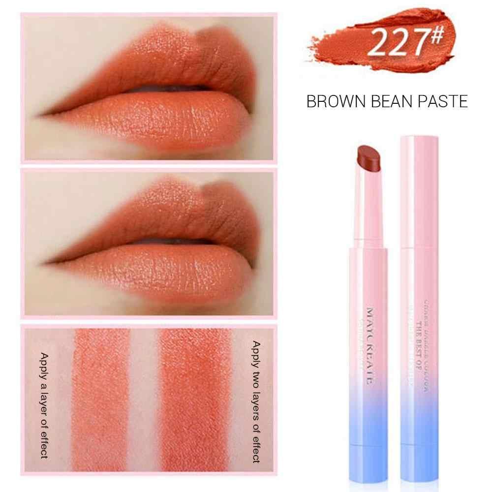 Musique Rose 3 pièces femmes rouge à lèvres longue durée Lipliner étanche lèvres Liner Stick crayon 10 couleur coréenne mode mat rouge à lèvres