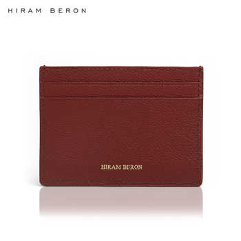 Hiram Beron CUSTOM NAME FREE Card holder for women gift for birthday luxury leather product dropship - Category 🛒 Luggage & Bags
