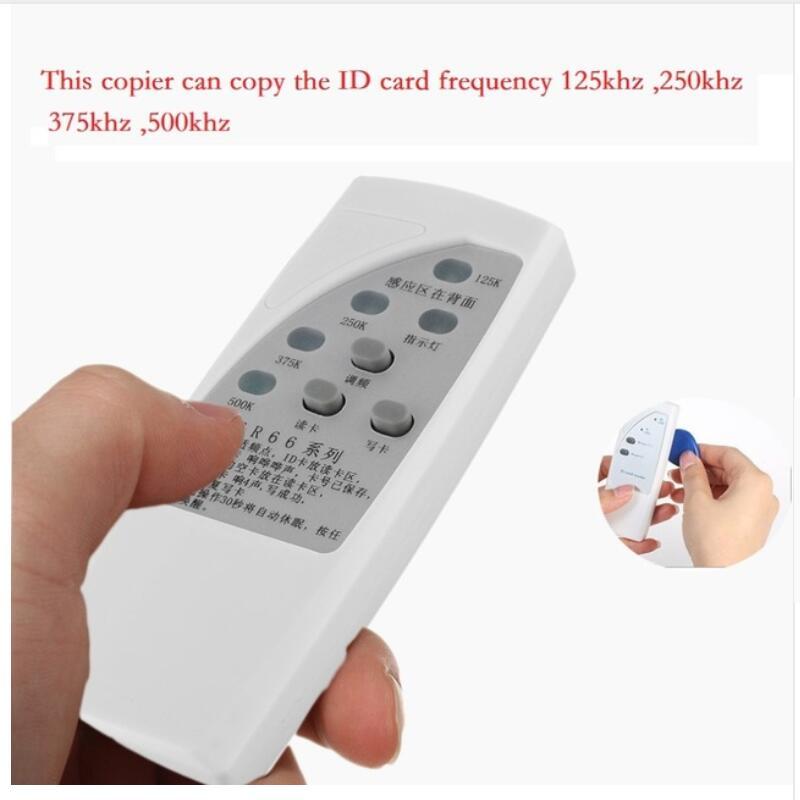 Handheld RFID ID Card 125K/250K/375K CR66 Duplicator Programmer Reader Writer 3 Buttons Copier Duplicator With Light Indicator