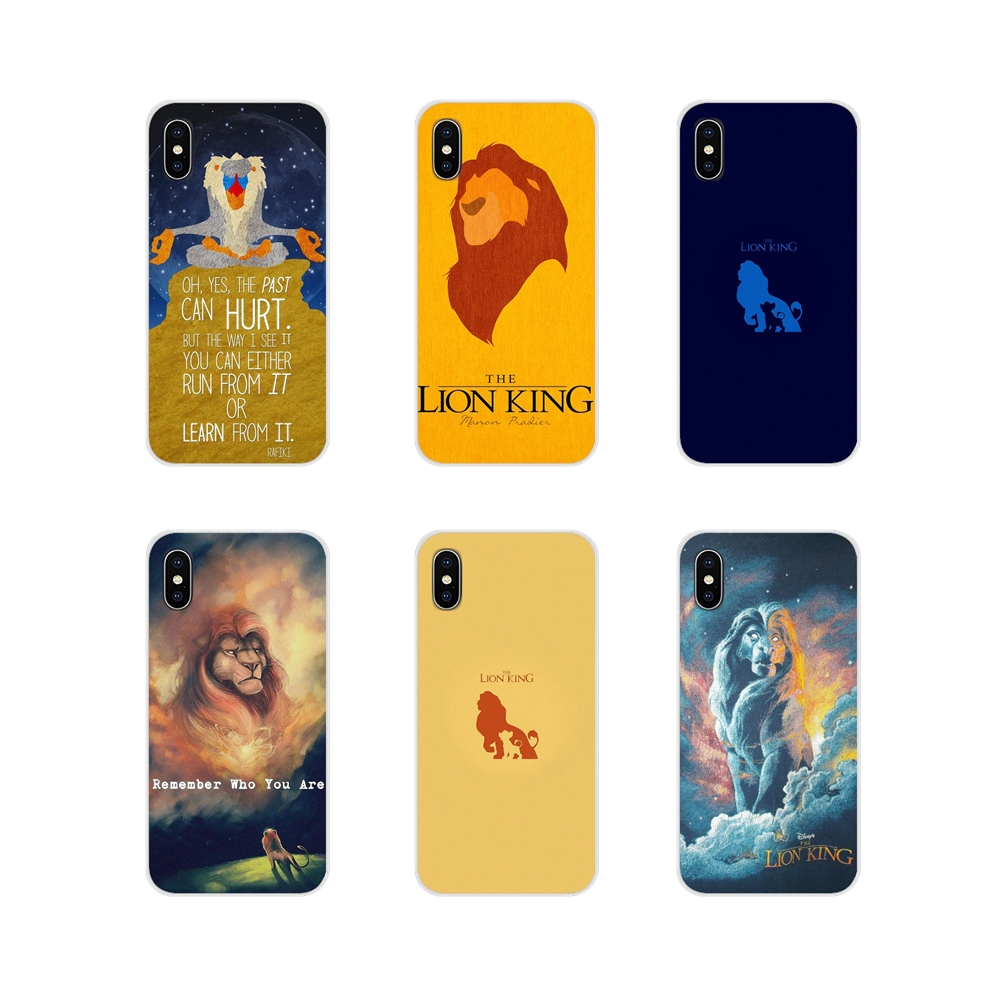 For Apple <font><b>iPhone</b></font> X XR XS 11Pro MAX 4S 5S 5C SE 6S 7 8 Plus ipod touch 5 <font><b>6</b></font> <font><b>Lion</b></font> <font><b>King</b></font> Simba Remember Who You Are Ultra Thin Covers image