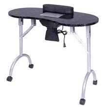 Portable MDF Manicure Table Spa Beauty Salon Equipm
