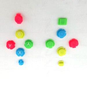 Image 4 - Kleurrijke Abxy Richtingen Keys Knoppen Joystick Voor Nintendo Switch Ns Nx Controller Joy Con Links Rechts Controller