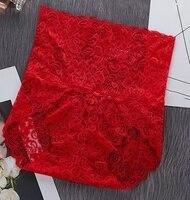 High waist-Red