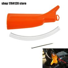 1PC Motorcycle Oil Filter Funnel For Harley Sportster 883 1200 48 Softail Dyna Touring Road King Street Glide Model triclicks new turn signal lights lenses round cover lens motorcycle light covers car covers for dyna softail sportster touring