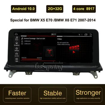 Car Multimedia Player for BMW X5 E70 X6 E71 (2007-2013) CCC CIC Android 10.0 In-Car Entertainment GPS Navi image