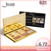 Jessup Professional Palette Eyeshadow Matte Glitter Natural Brighten Easy to Wear Powder Earth Color