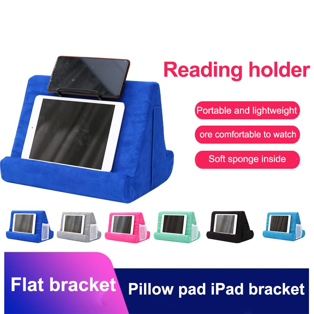 Tablet Stand Pillow Holder Phone Pillow Lap Stand Multi Angle Soft Pillow Pad Lap Stand Mobile Phone Holder For IPad|Phone Holders & Stands| |  - title=