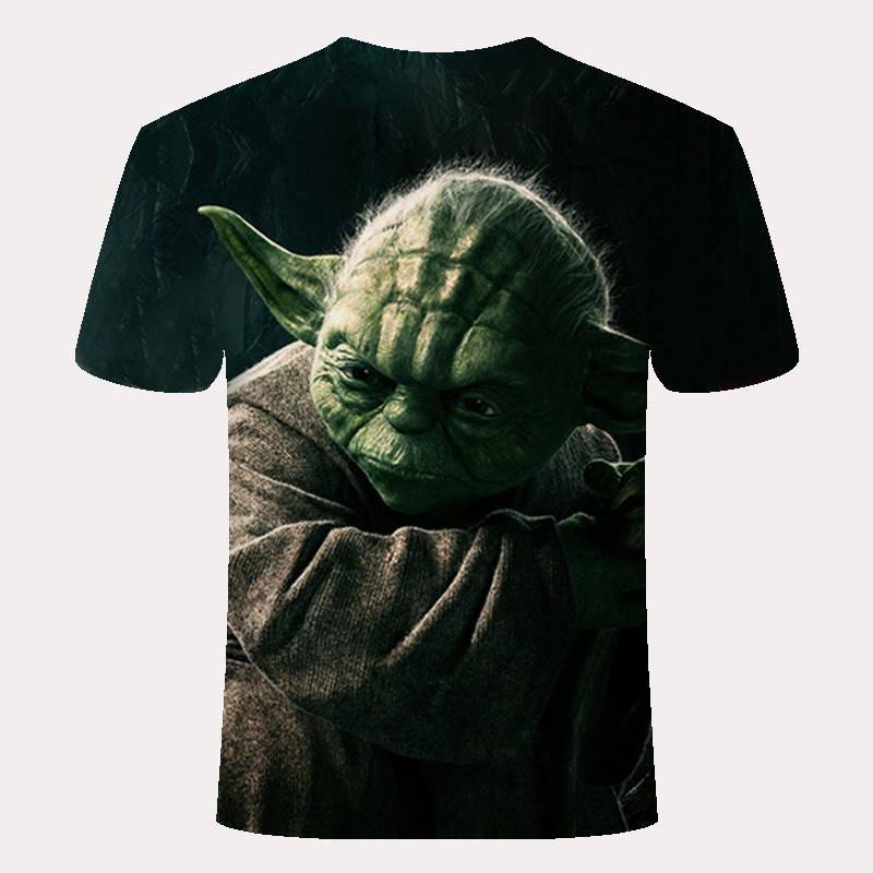 Новейшая модель; 3D печатных футболка Star Wars Для мужчин Для женщин летние шорты рукавом Забавные футболки модные Повседневное одежда Азии