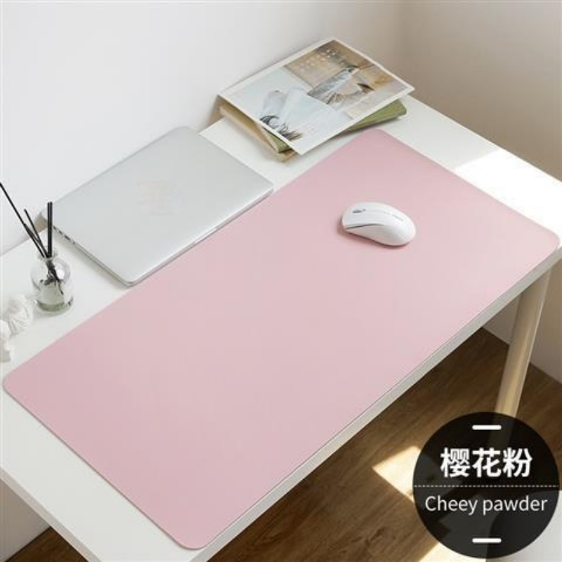 1PC Large Size Mouse Pad Desk Mat Nonslip Leather Suede Pads Gaming Gamer Anti-slip Keyboard Mouse Pad for Laptop PC Accessories