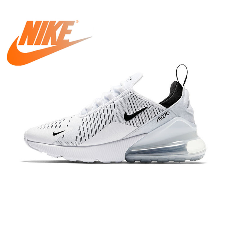 Original Authentic Nike Air Max 270 Women's Running Shoes Classic Outdoor Sports Shoes Fashion Comfortable New AH6789-100