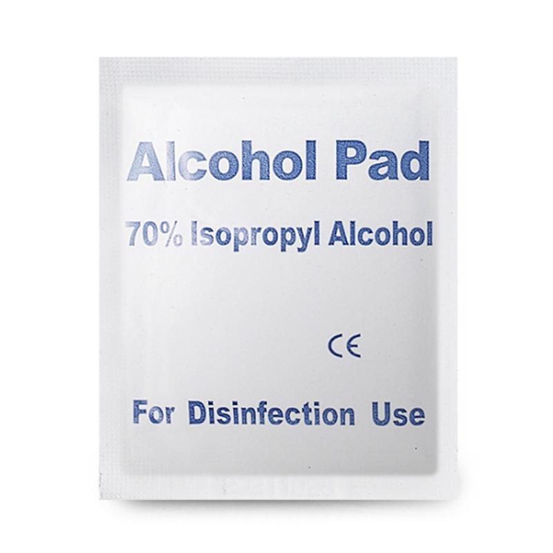 30 Pcs Alcohol Wet Wipe Disposable Disinfection Prep Swap Pad Antiseptic Skin Cleaning Care Jewelry Mobile Phone Clean Wipe