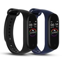 M4 смарт-браслет 4 фитнес-трекер часы Спорт Шагомер сердечный ритм кровяное давление монитор смарт-ленты здоровье браслет