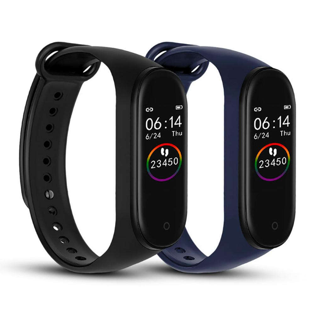 M4 Smart Band 4 Fitness Tracker Watch Sport Pedometer Heart Rate Blood Pressure Smartband Monitor Health Wristband Band Bracelet