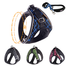 Reflective Small Medium Dog Harness Collar Outdoor Training Walking Safety Pet Vest Harnesses
