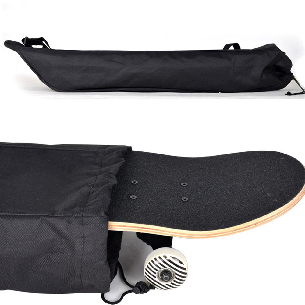 New 87Cm Long Skateboard Bag Oxford Cloth Skateboard Bag 31.5 Inch Skateboard Carrying Case Shoulder Travel Longboard Backpack