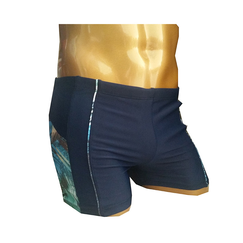 2019 New Style MEN'S Boxers Adult Hot Springs Swimming Trunks Large Size Sports Athletic Beach Pants Beach Shorts