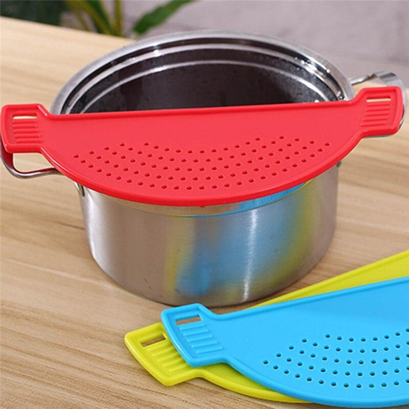 Placa de dreno para lavar o arroz, de macarrão, frutas, vegetais, limpeza, codornas e filtro, acessórios de cozinha, dropship