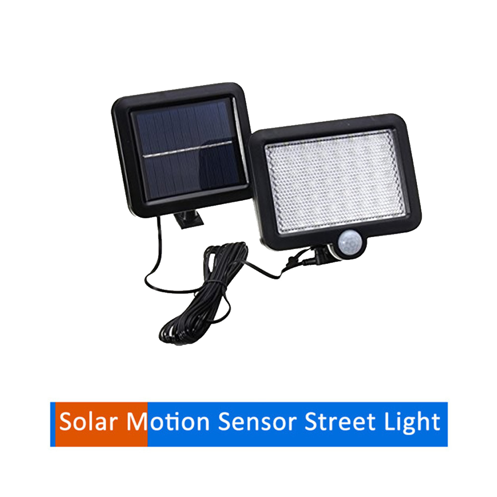 56/30 LEDs Solar Panel Power Light PIR Motion Sensor Separable Wall Lamp Outdoor Path Yard Garden Fence Night Light New Split Mo