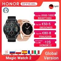 In Lager Globale Version Ehre Magie Uhr 2 Smart Uhr Bluetooth 5,1 Smartwatch Blut Sauerstoff 14 Tage Wasserdichte MagicWatch 2
