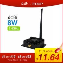 EDUP 2.4GHz 8 واط واي فاي مكبر كهربائي 5GHz 5 واط مُعزز إشارة Wifi المدى اللاسلكي مكرر لهوائي واي فاي راوتر الملحقات