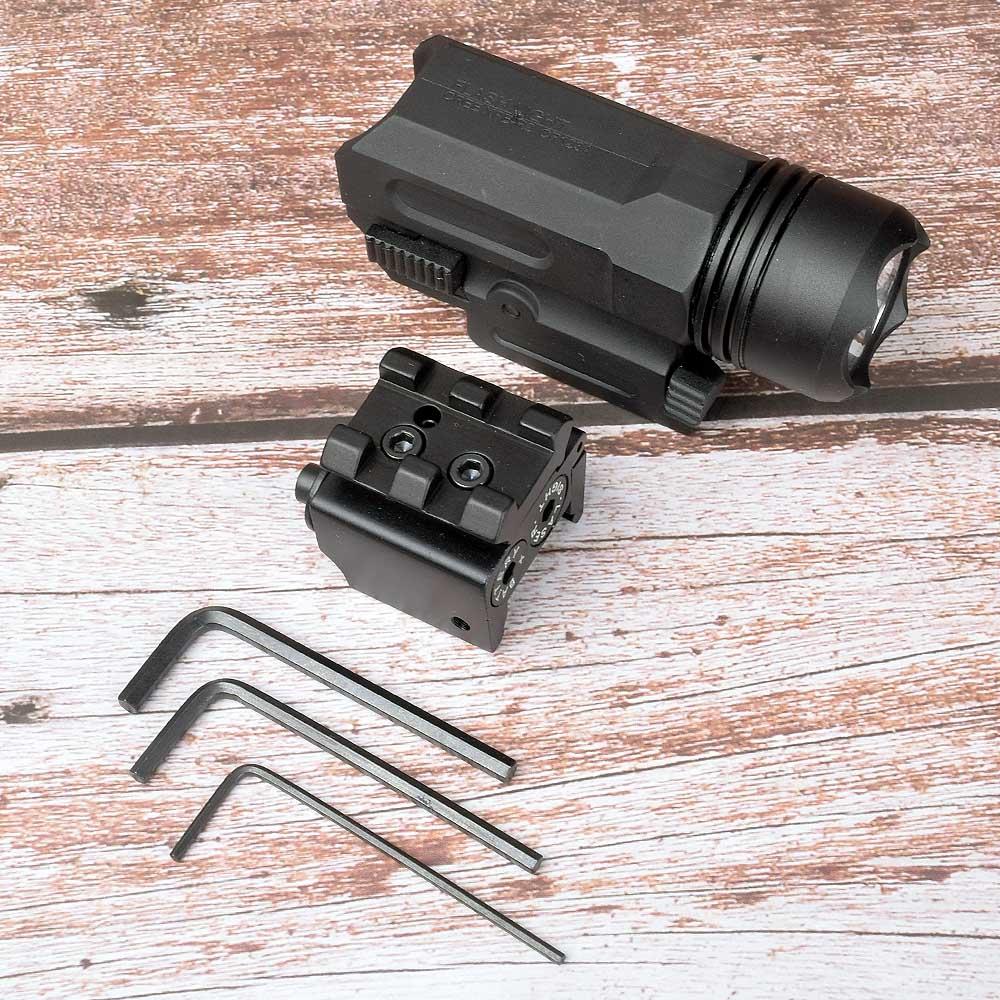 Red Dot Laser Sight Tactical Picatinny Weaver Rail Mount 20mm Pistol Gun Compact  Torch Light LED Rifle Glock Gun Flash Light-5
