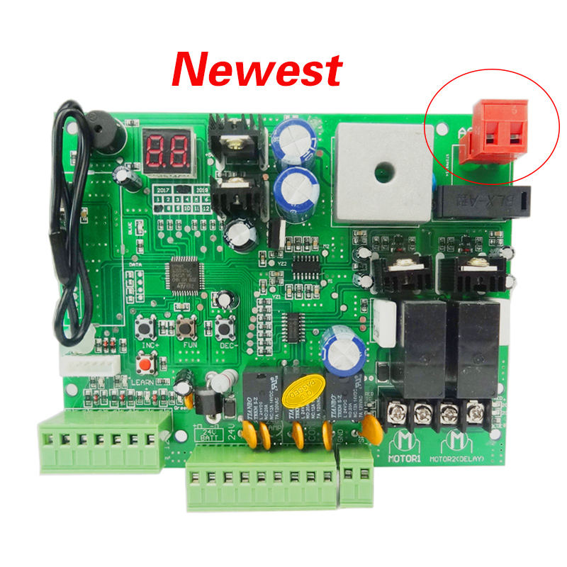 Swing Door Control Panel Board Universal Use Double Automatic Arm , Motor 24V DC PCB (remote Option)