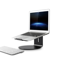for Laptop(11 17 Inch)360 Rotatable Desktop Holders Aluminium Alloy Stand/Mount|Tablet Stands| |  -