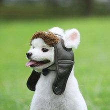 Autumn Winter Style  Pilot Dog Hat Leather Cap Cheap Pet Caps Hats Funny Products Cosplay Small Medium Large Dogs