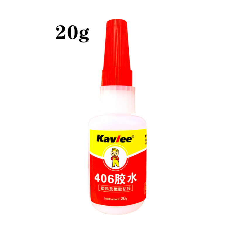 406 glue, high strength, high viscosity, strong flexibility, special instant quick drying adhesive for rubber silicone plastic