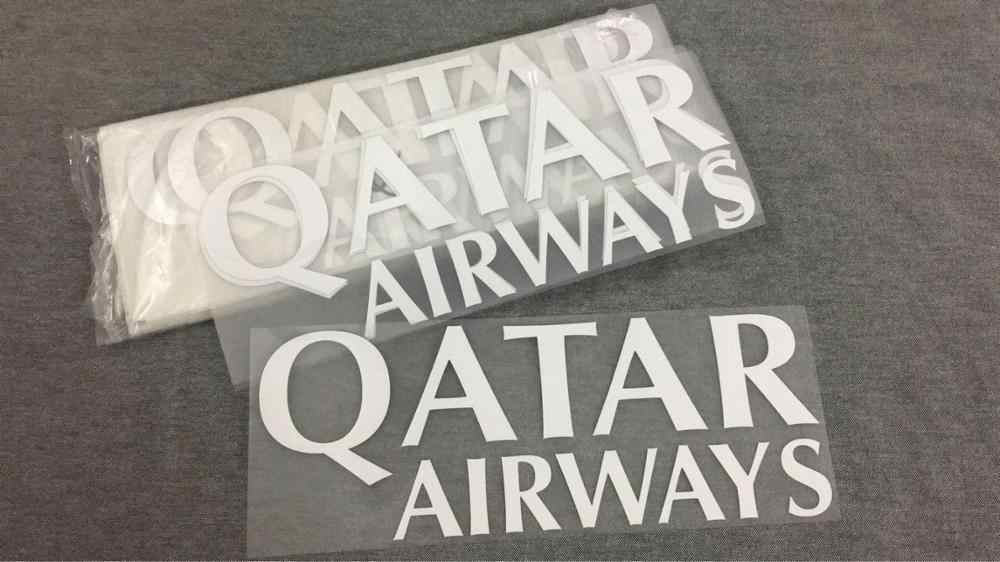 1819 Qatar Airways Patch VOOR R-O-M-A Voetbal Patch Badge