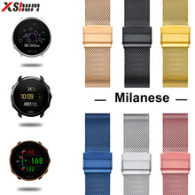 20mm 22mm Watch Strap For Polar Ignite/Vantage M/Grit X/Suunto 3 Fitness Band Metal Bracelet For Accessories Watchband