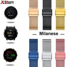 20mm 22mm pasek zegarka do polarnego zapłonu/Vantage M/Grit X/Suunto 3 opaska sportowa metalowa bransoletka na akcesoria Watchband